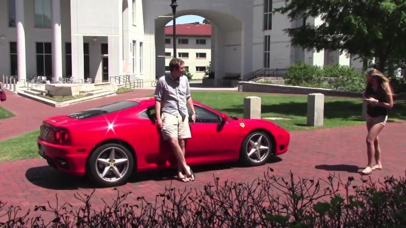 Doug DeMuro: You don't want to drive a Ferrari everyday Does a Ferrari 360 attract women? [BMIRussian]