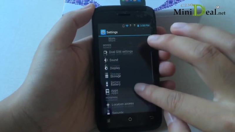 Phicomm C230w Aliexpress Smartphone 4 IPS 1.2GHz