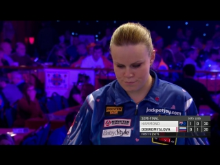 Corrine Hammond vs Anastasia Dobromyslova (BDO World Darts Championship 2017 / Semi Final)