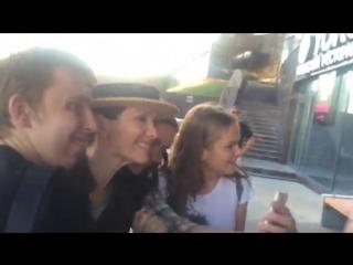 Наталия Орейро в Москве/ Отель (28.06.16)