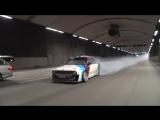 BMW E30 Smoking down Stockholm