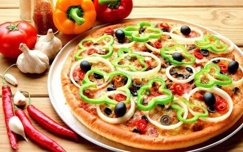 Полезная пицца