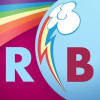 Логотип Rostov Bronies [RB] (Закрытая группа)