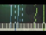 [Zankyou no Terror] ED Dare ka, Umi wo Piano Synthesia Tutorial