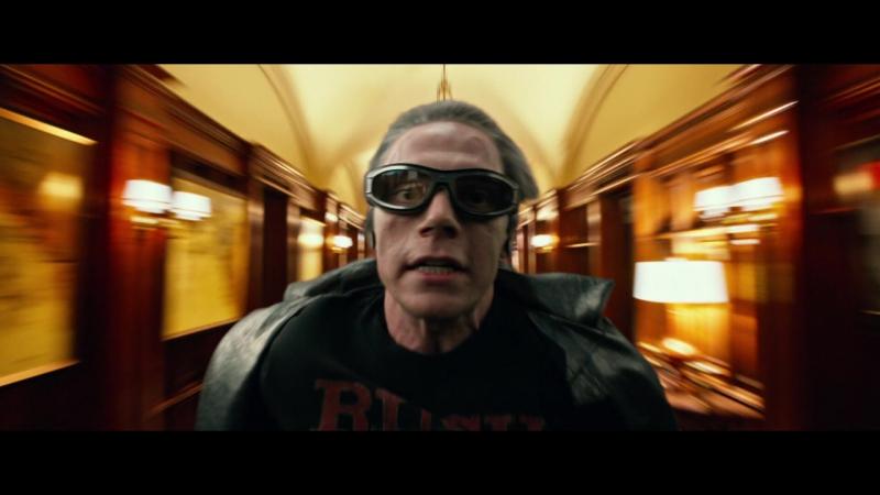 Люди Икс: Апокалипсис - Ртуть: сцена в школе Ксавьера / X-Men: Apocalypse Quicksilver Scene HD 1080p