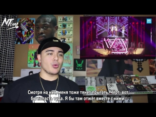 SBS 2014 2NE1 Crush + Come Back Home Live Reaction (русс. саб)
