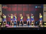 160809 Brave Girls - High Heels + Deepened @ K Force TV Consolation Train Broadcast