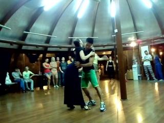 Руслан Квак - бразильский зук танец именинника парк Фили 23.07.2016 Москва