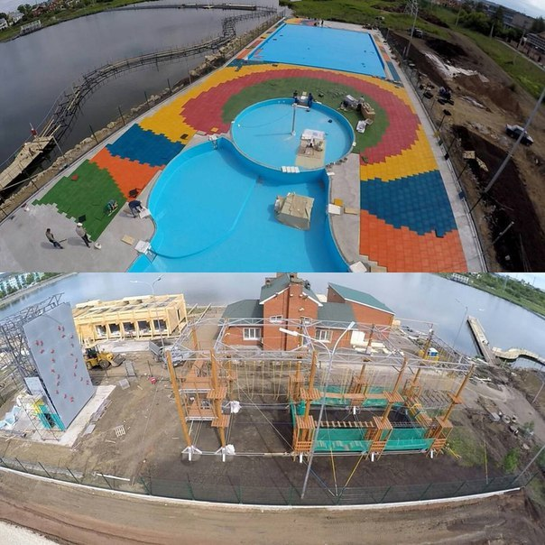 Instagram Хайруллина: реконструкция территории городского озера