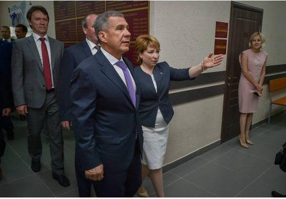 Минниханов открыл в Альметьевске новое здание мировых судей
