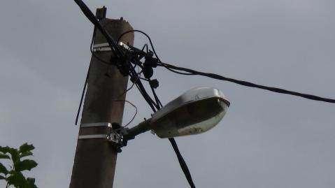 Житель Бавлов пожаловался на отсутствие освещения на улице Куйбышева — «Народный контроль»