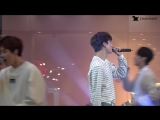 [FANCAM] [170430] B1A4 - Glass of Water (Gongchan Focus) @ Square1 Incheon Special Concert