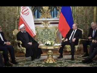 Заявления для прессы В.В.Путина и Президента Ирана Х.Рухани