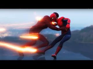 Spider man Homecoming Trailer Spider man vs The Flash FIGHT SCENE Marvel vs D