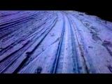 Ледяной спуск в УТЦ Кавголово 8 апреля 2017