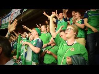 Евро 2016 Фанаты Северной Ирландии Northern Ireland Fans at Euro 2016   Will Grigg is on fire song