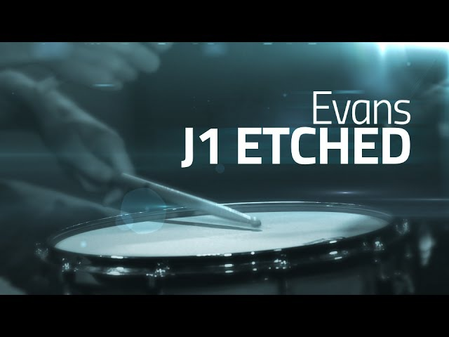 Evans J1 Etched Snare Drum Head Review