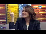 Entrevista a Tini Stoessel en Nunca es Tarde (NET)