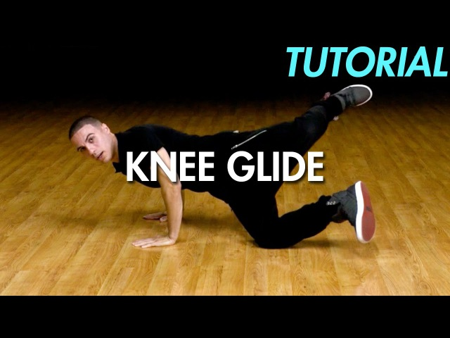 How to Knee Glide (Hip Hop Dance Moves Tutorial) | Mihran Kirakosian