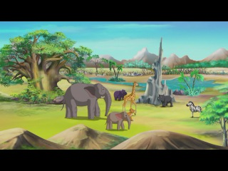 Сказки африканской саванны. Маленькая пальма