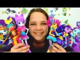 Девочки Эквестрии: Игры дружбы с куклами Эквестрия герлз. Лучшая подружка Настя и девушки пони.