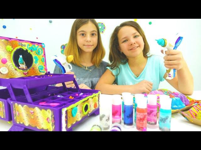 Игры для девочек: Волшебная шкатулка Давинчи и лучшие подружки Настя и Вика. Детское творчество.