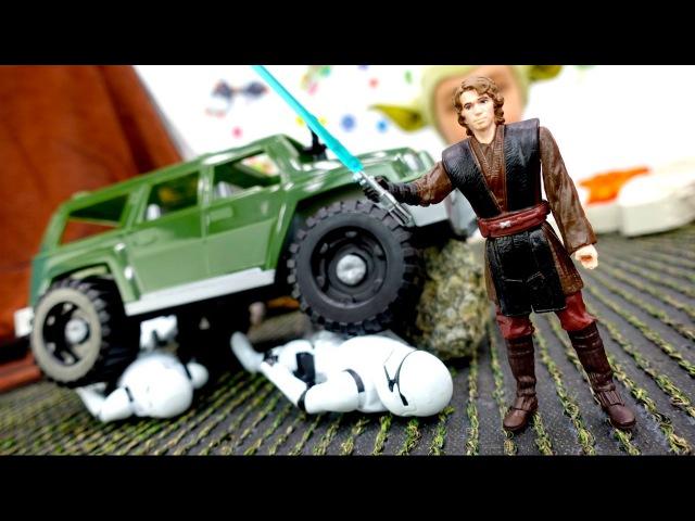 Звездные войны: обзор жетонов Стар Варс. Дарт Вейдер против Люка Скайуокера! Видео про игрушки