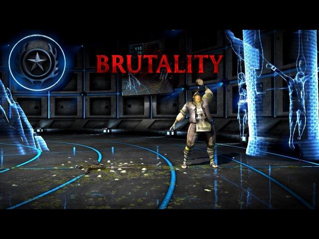 БРУТАЛИТИ Бой Ра чо СМЕРТЕЛЬНАЯ БИТВА ИКС ЭЛЬ ПРЕМИУМ BRUTALITY Bo Rai Cho Mortal Kombat XL Premium