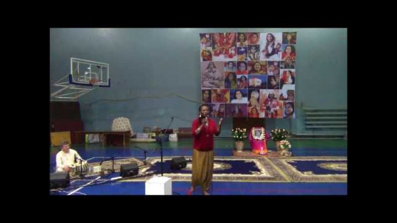 Let It Be - Sings Rachelle Jeanti and Ukrainian Sahaja Yogis Seminar Shri Hanumana in Ukraine