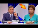 Candidato Aécio Neves Faz Dilma passar mal em debate no SBT 16 10