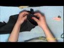 Обработка шлицы в рукаве пальто