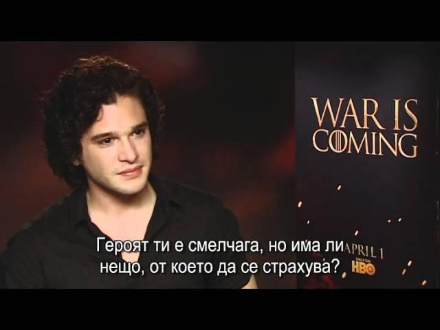 Кит Харингтън -- Джон Сняг от Game of Thrones