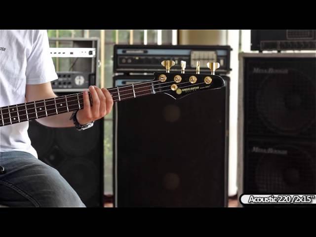 Greco MTB-1500 Bass guitar with kahler tremolo