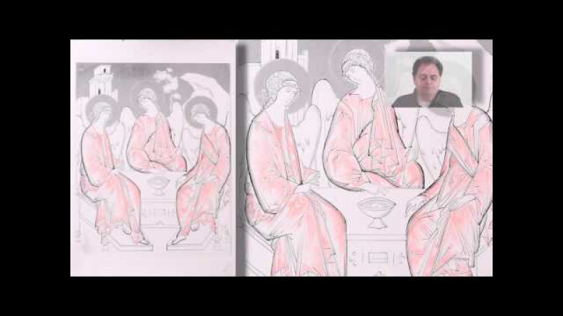 Dipingere la Trinità DEMO: 19 Studio luci con matite rosse