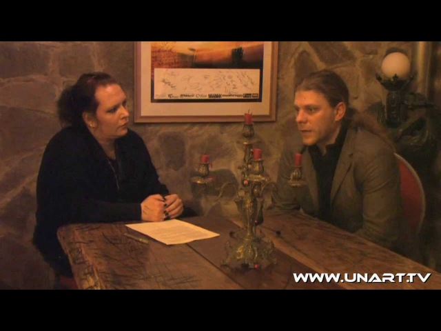 UnArt Live TV - Interview Adrian Hates Diary of Dreams, Pulp Duisburg 2011