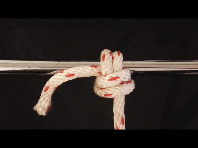 How To Tie An Anchor Hitch Variant Knot - WhyKnot