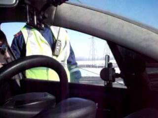 ГАИ трасса М4 инспектор отказ писать протокол скорость