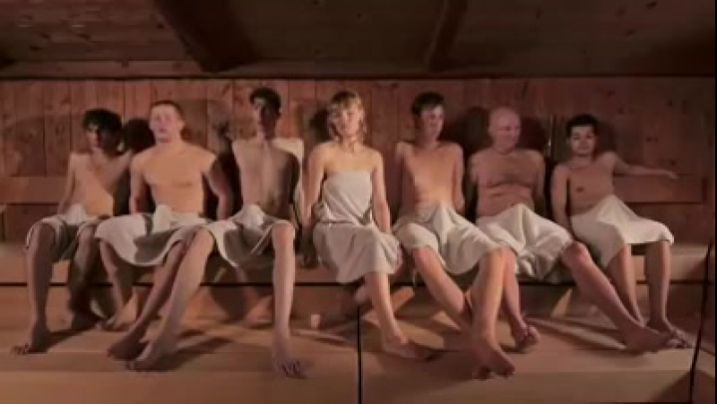 Скрытая камера в русской бани (перепутал