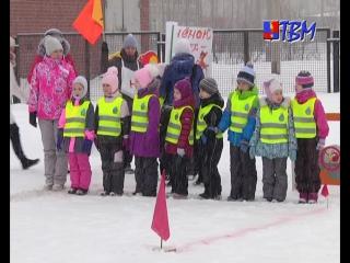 Лыжные гонки, биатлон, хоккей с шайбой и бобслей. Для детских садов микрорайона «Монча» прошел фестиваль зимних видов спорта