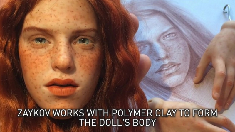 Russian Artist Creates Unbelievable and Stunningly Realistic Dolls