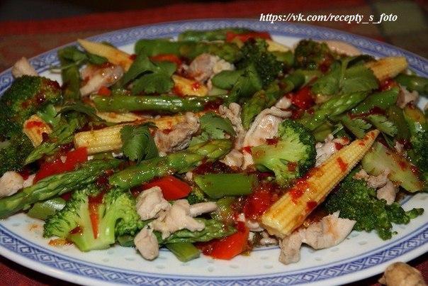 Тайские салаты рецепты с фото