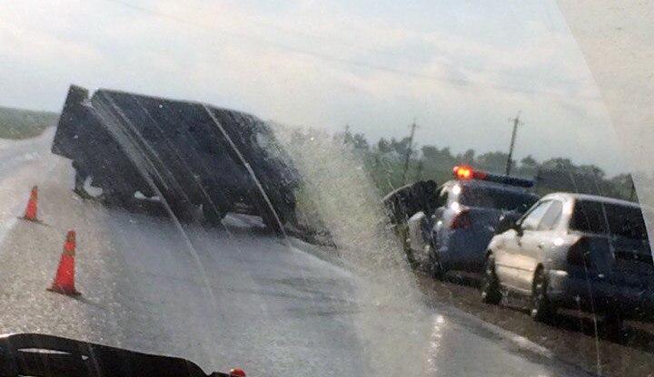 На трассе «Ростов-Таганрог» столкнулись Chevrolet Lacetti и «ГАЗель»