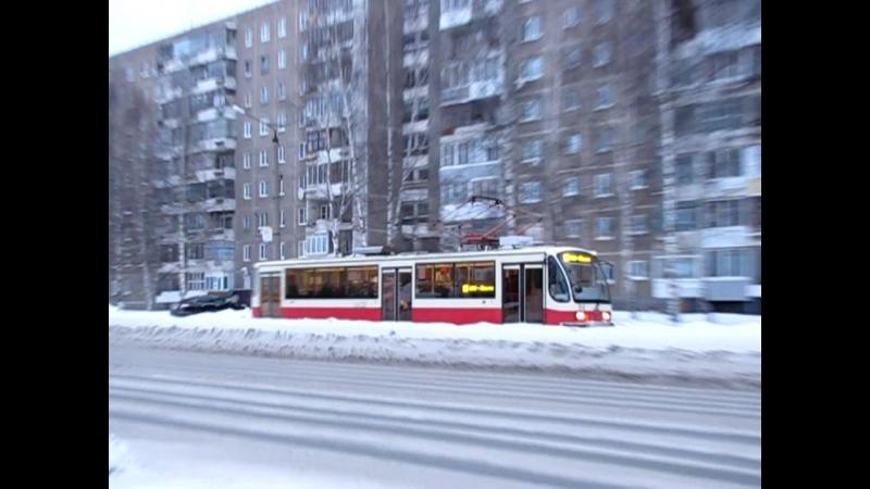 Нижний Тагил: Восточное шоссе и Ленинградский проспект, январь, 2016 г.