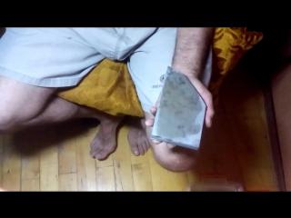 правка бритвы и тест Ozuku ASAGI KARASU Lv5.5 super-hard stone