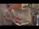 Тушёнка из свинины в домашних условиях (рецепт).