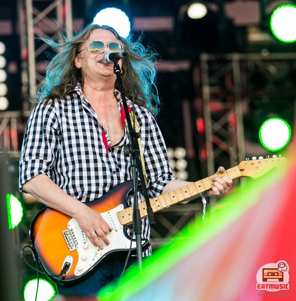 Группа Чиж & Co на фестивале НАШЕСТВИЕ 2016