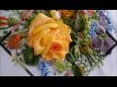 Картина лентами Весенний букет