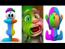 Talking Boy Pocoyo, Talking Cat Tom and Talking Duck Pato Colors Reaction Compilation Baby