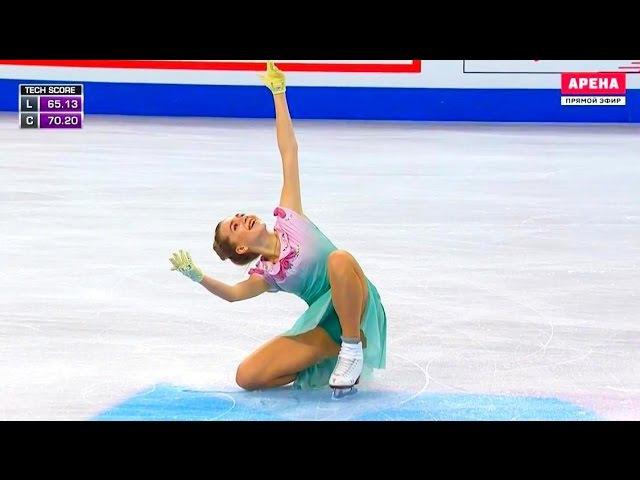 Елена Радионова - Чемпионат мира по фигурному катанию Бостон 2016 - Произвольная программа