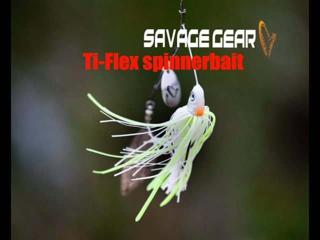 TiFlex spinnerbait pike action
